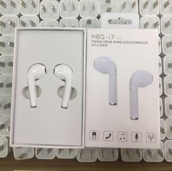 e6ec2eceb92 New Bluetooth Handset Hbq I7 Tws Wireless Earbuds Earphone I6/I7/I8/ Galaxy  6/7/8