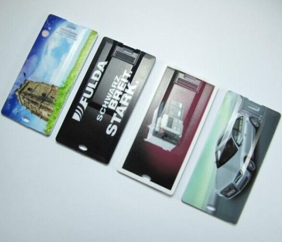 Hot Sell 4GB Mini Business Card USB Flash Drive Pendrive (TF-0109)