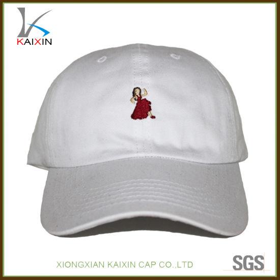 2718526e4e5018 China Custom Sports Running White Dad Baseball Hat Embroidered ...