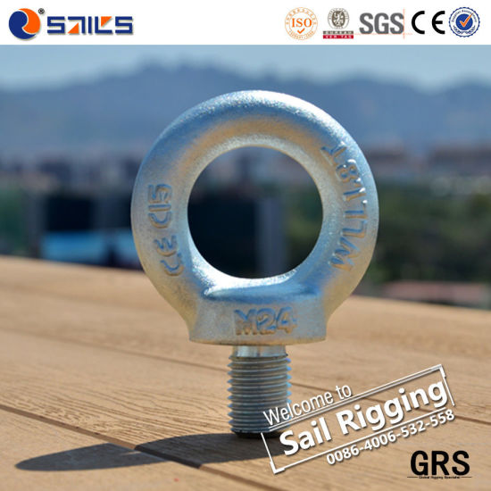 Carbon Steel Drop Forged Eye Bolt pictures & photos