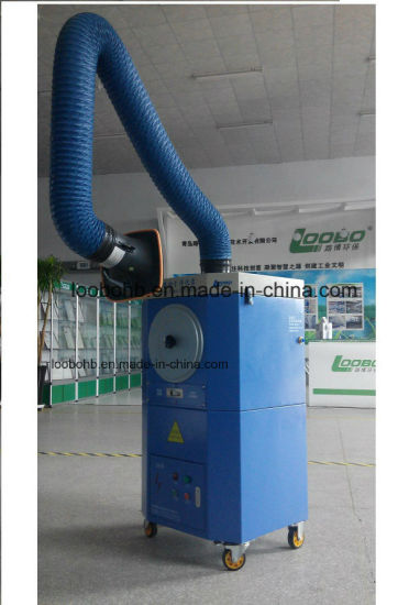 Big Air Volume Welding Air Purifier with Double Exhaust Hood pictures & photos