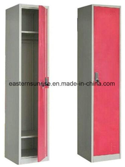 . Cheap Metal Single Door One Tier Bedroom Storage Locker