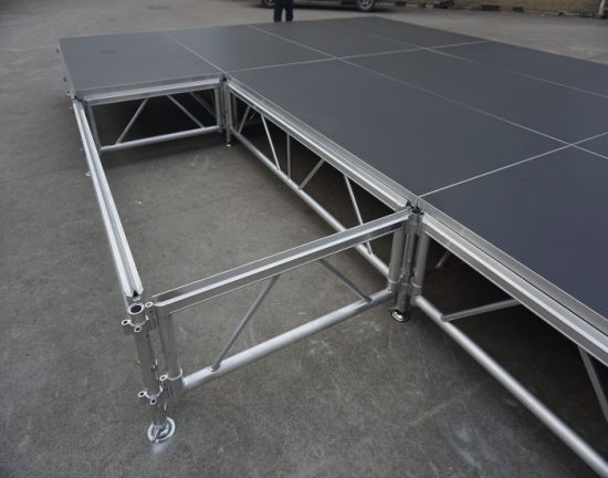 Portable Stage Equipment Non-Slip Platform with Adjustable Legs for Sale pictures & photos