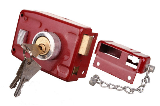 Micc Brand 101 Type Safe Steel Door Lock Rim Lock for West Africa Market pictures & photos