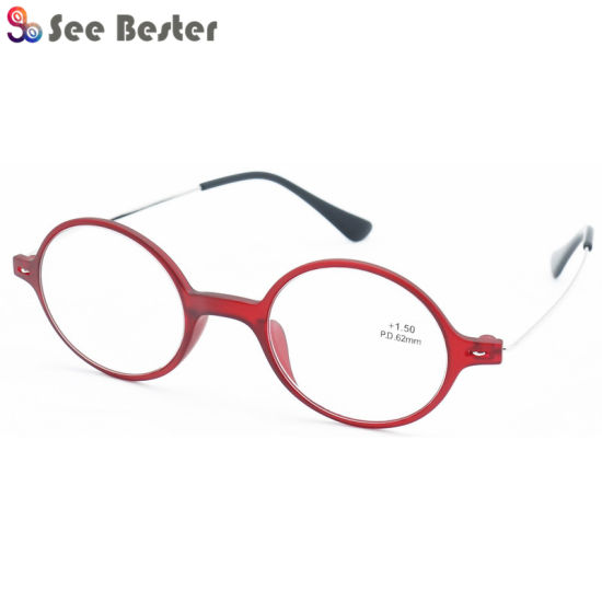 Wholesale Classic Unisex Thin Pocket Mini Tr90 Portable Ultra Slim Reading Glasses pictures & photos
