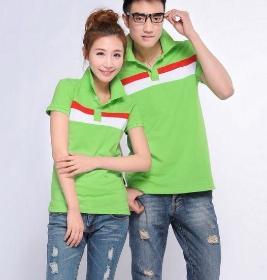 bbc2032a Wholesale Cheap Couple Uniform Polo Shirt Manufacturer pictures & photos