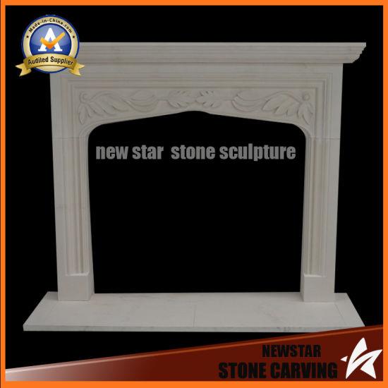 China Granite Fireplace Surround Limestone Fireplace Mantel China