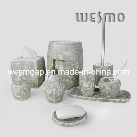 Porcelain Bath Accessories Set (WBC0581B)