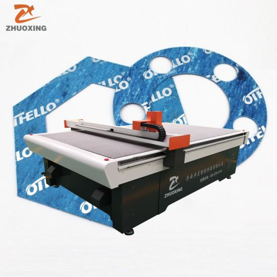 Asbestos Non-Asbestos Rubber Graphite Cork PTFE Gasket Material Cutting Machine Digital CNC Gaskets Making Equipment Ce Good Quality Factory Price