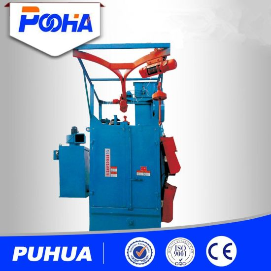 Hanger Type Shot Blasting Machine Hook Type Cheap Price Surface Cleaning and Casting pictures & photos