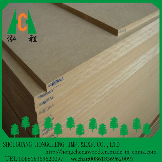 1220X2440mm Raw MDF Board/Plain MDF for Overseas Market pictures & photos