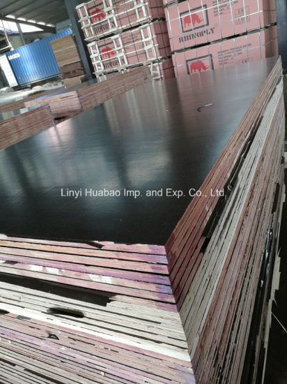 A/A Grade WBP Glue Film Faced Plywood for Construction (HB1601) pictures & photos