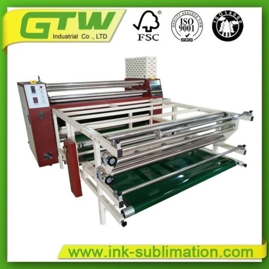 Chinese Calender Heat Press 800*1700mm for Industrial Printing