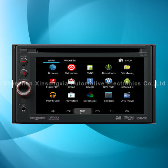 New Android System GPS Navigation Box for Kenwood Car DVD Player WiFi