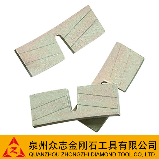 ''u'' Gullet Diamond Segment for Blade
