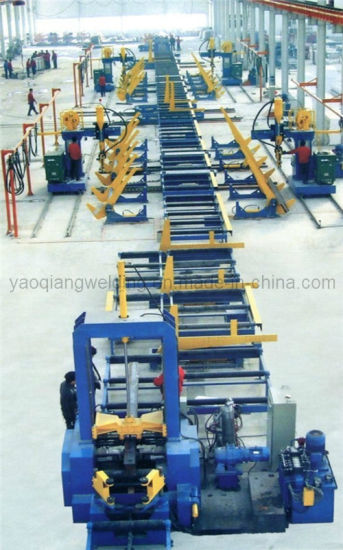Heavy Steel Profile Manufacturing Machine pictures & photos