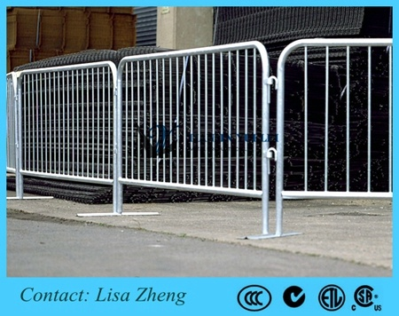 Hot DIP Galvanized Temporary Event Barricade pictures & photos