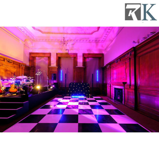 Manufacturer White Solid Wood Dance Floor for Weddings