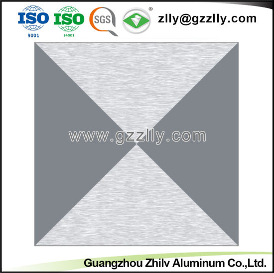 Decorative Frosted Aluminum Ceiling with Flower Pattern pictures & photos