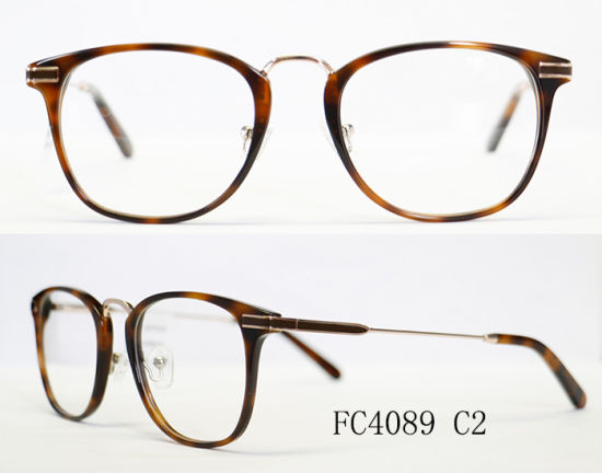 Classic European Acetate and Metal Combination Women Eyeglasses pictures & photos