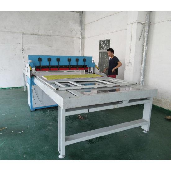 Automatic Computerized Fabric Sample Book Cutting Machine