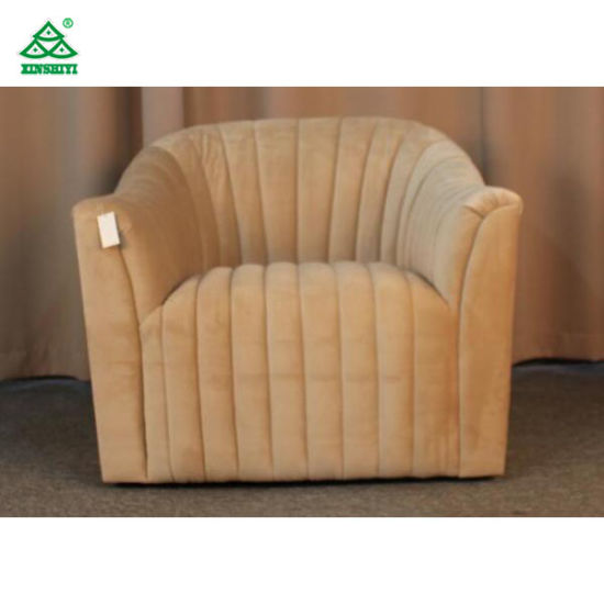 French Country Style Single Seater Sofa Classic / Ancient One Person Sofa