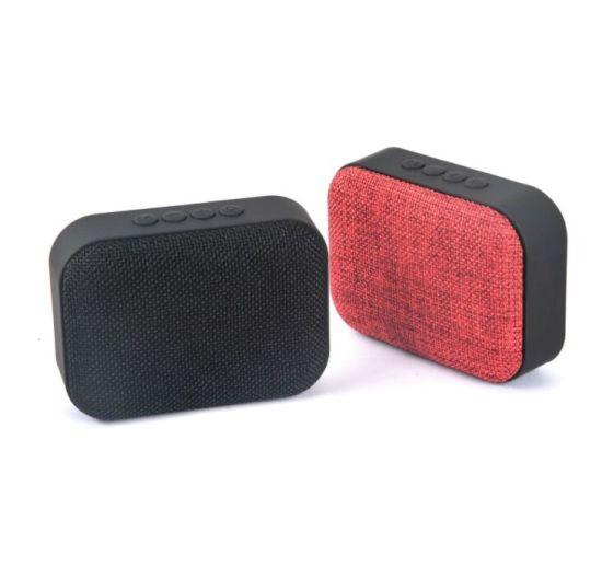 Mini Fabric Portable Wireless Bluetooth Speaker Sound Box Linking with 5g Cellphones IP Phone