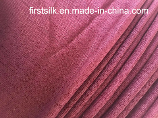 Silk Tulle Fabric Silk Mesh Fabric for Bridal and Eveing Dress Close pictures & photos