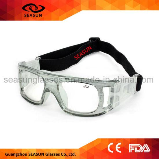 c9822c7d099b Custom Brands Adjustable Elastic Strap Sport Soccer Basketball Dribbling  Aid Protective Glasses