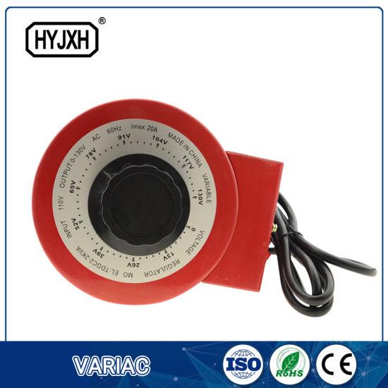 China Three Phase 2kVA 220V Input Manual Digital Variac ... on