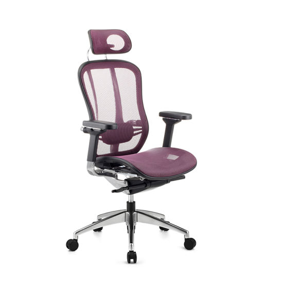 Wholesale Portable High Quality Red Full Mesh Manager Office Chair