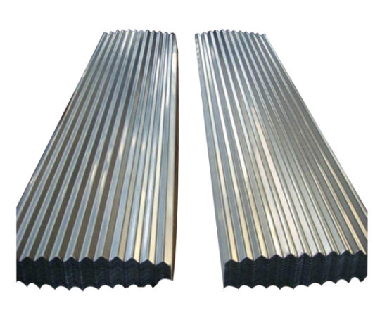 Regular Spangles Hot Dipped Galvanized Zinc Steel Roofing Sheet