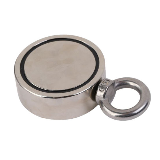 ISO/Ts16949 Industrial Rare Earth Permanent Neodymium/NdFeB D75mm Pot Fishing Magnet