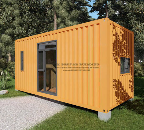 20FT Hq Prefab/Prefabricated Modular Mobile Shipping Container House for Single Apartment pictures & photos
