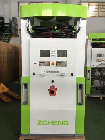 Zcheng Green Color Creative Series Gas Station Fuel Dispenser with ESD