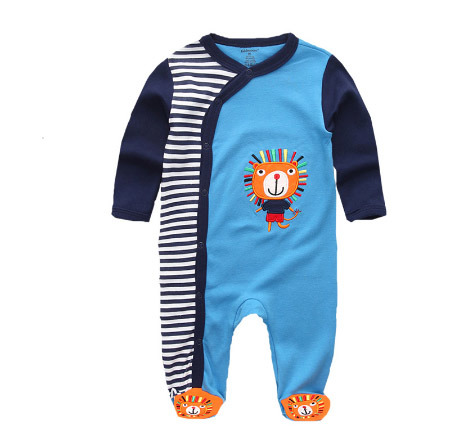 Wholesale Baby Clothes Cotton High Quality Newborn Plain Baby Rompers Jumpsuits