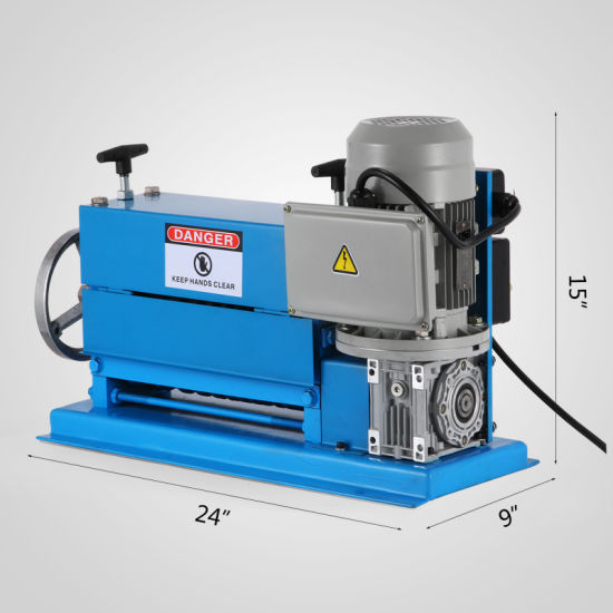 China 220V Portable Powered Electric Wire Stripping Machine Scrap ...