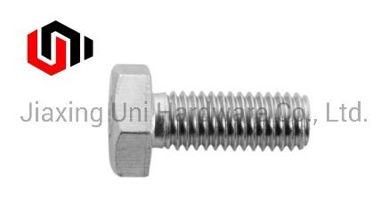 Fastener/Bolt/Hex Head Bolt/Grade 5/Hexagonal Head/Hexagonal Bot/Zinc Plated/Stainless Steel/Dacromet/Black