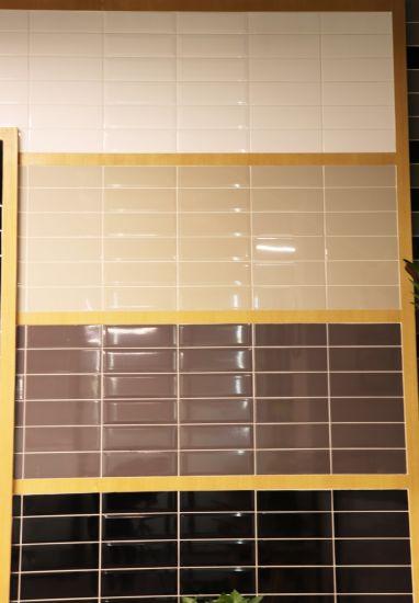 China Black 4X12inch/10X30cm Glossy Decorative Tile Vitrified Tile ...
