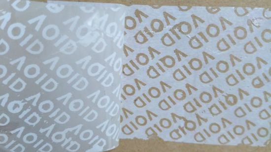 Tamper Evidence Coated Art Paper Printing Paper/Material for Label All Transfer/Non Transfer/All Clear Transfer