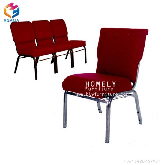 Used stackable chairs Stacking Sale Stackable Metal Banquet Cheap Used Church Chairs With Backpocket Foshan Homely Furniture Co Ltd China Sale Stackable Metal Banquet Cheap Used Church Chairs With