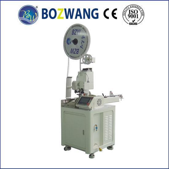 China Full Automatic Single End Twisting and Terminal Crimping ...