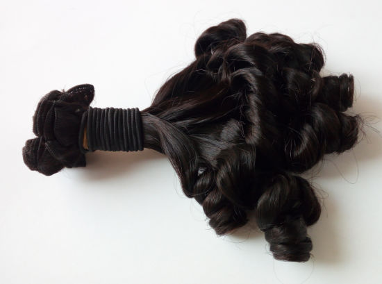 10A Fumi Curly Peruvian Virgin Human Hair Extension Lbh 062 pictures & photos