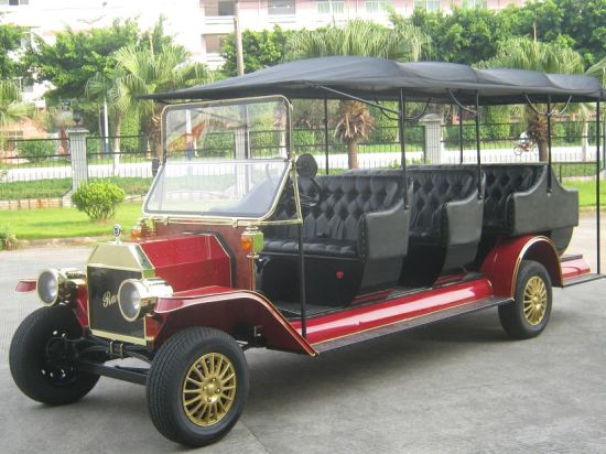 AC Motor Noble Ce Electrical Recreational 48V Tourist Vehicle