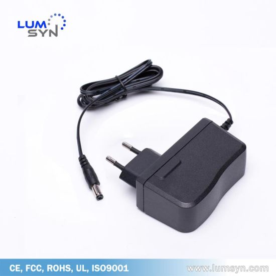 Level VI 6V 3A Switching Power Supply Adapter with EU Plug