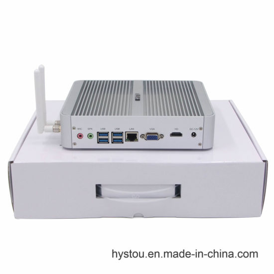 Hystou Small Form Factor Computer with Low Power 12V Fanless Nano Laptop Motherboard (I7 5550u 16g 256g) pictures & photos
