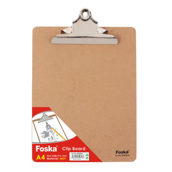 MDF A4/FC Clip Board/Metal Clip Board pictures & photos