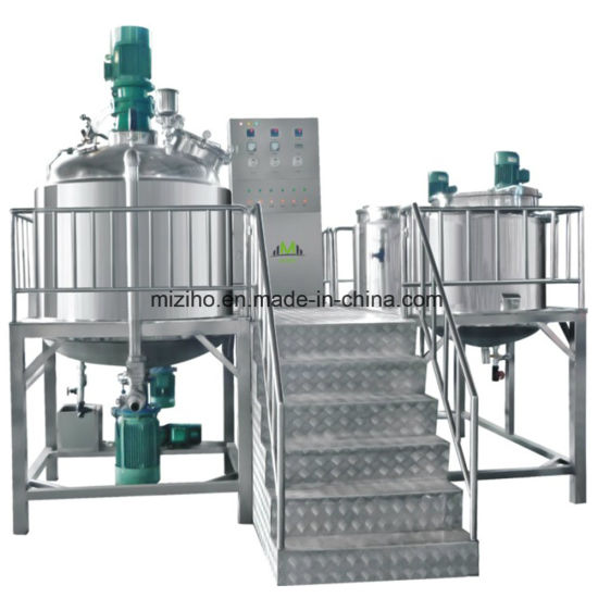 1000L Homogenizer Mixer Stainless Steel Mixng Plant Industrial Mixing Equipment