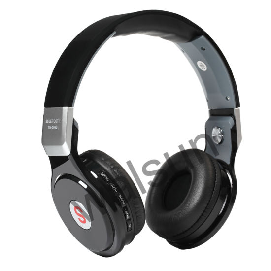 e52a8350f02 Custom Wireless Bluetooth Headphone Headset with Mic and SD Card and FM  Radio Function