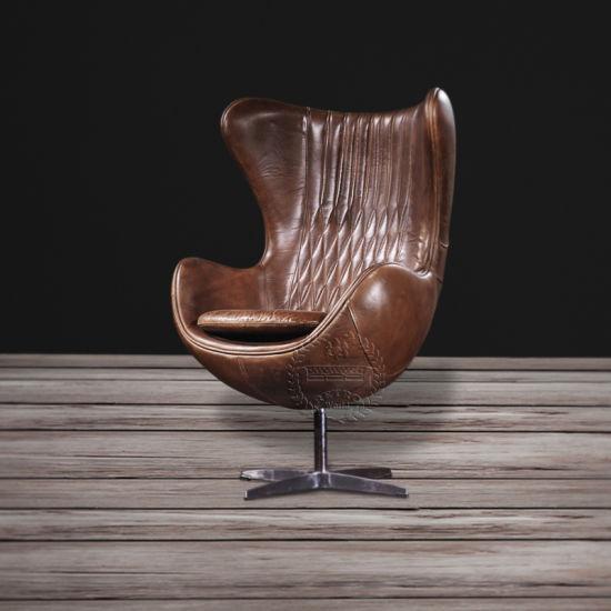 Arne Jacobsen Egg Chair In Livingroom